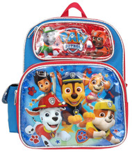 """Small Backpack Paw Patrol Team Red 12"""" 009649"""