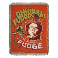 Woven Tapestry Throws A Christmas Story Oh Fudge  022819