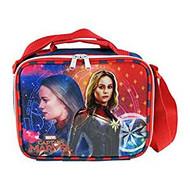 Lunch Bag Captain Marvel Superhero Girl 008864