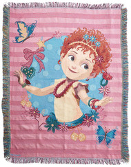Woven Tapestry Throws Fancy Nancy Mademoiselle 024035