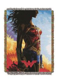 Woven Tapestry Throws Wonder Woman Gone Wonder 024400