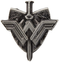Pin DC Comics Wonder Woman Sword & Shield Logo Pewter 45748