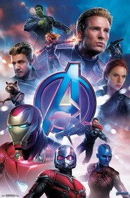 "Poster Studio B Avengers Endgame Group 36x24"" Wall Art P7255"