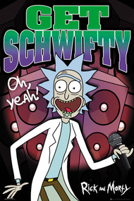 "Poster Studio B Rick & Morty Get Shwifty 36x24"" Wall Art P8538"