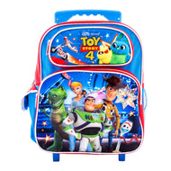 "Small Rolling Backpack Disney Toy Story 4 Blue 12"" 009342"