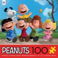 Puzzle Ceaco Peanuts Run 100Pcs 1663-6