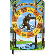 Character Goods Archie McPhee Bigfoot Spinner Notebook 12853