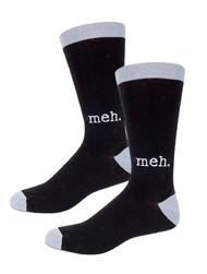 Socks Archie McPhee Meh 12803