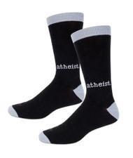 Socks Archie McPhee Atheist 12805