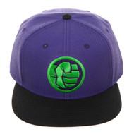 Baseball Cap Avengers Endgame Hulk Logo Colorblock Snapback sb7t23avt