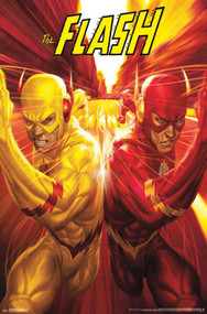 "Poster Studio B The Flash Race 23""x35"" Wall Art p4665"