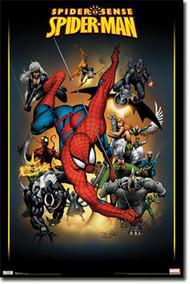 """Poster Studio B Spiderman Adversaries 24""""x36"""" Wall Art p6680"""