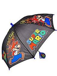 Umbrella Super Mario Mario Running Black Kids/Boys 389410