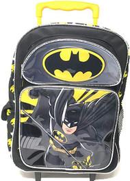 """Large Rolling Backpack DC Comics Batman 16"""" 168210-2"""