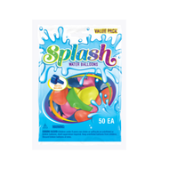 Party Supplies Pioneer Water Balloons w/Filler Splash 50 ct Games 82377