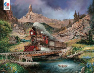 Puzzle Ceaco Blay Lock Nuggetville Blue Sky 750pcs 2921-5