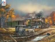 Puzzle Ceaco Blay Lock Amish Train 750pcs 2921-7