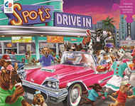 Puzzle Ceaco Paw&Claws Drive-in 300Pcs 2224-4