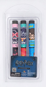 3 Pieces Ball Pen Set Harry Potter Blister Card 48065