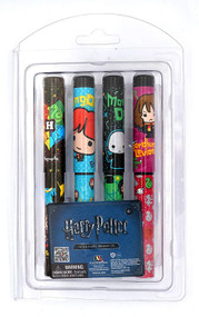 4 Pieces Ball Pen Set Harry Potter ABlister Card  48055