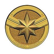 Pin Marvel Captain Marvel Logo (Round) Pewter Lapel 69066