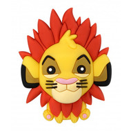 3D Foam Magnet Lion King Simba 85999