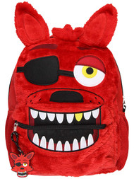 Backpack Five Nights at Freddy's 3D Foxy Plush & Face 171289