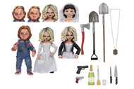 "Action Figure Bride of Chucky 7"" Chucky & Tiffany 2-Pack 42114"