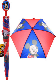 Umbrella Disney Mickey Mouse Blue/Red Kids/Boys 274192