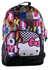 Backpack Hello Kitty Colorblock Black 819870