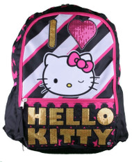 Backpack Hello Kitty I Love Kitty Quilted Pink 820685