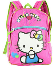 Backpack Hello Kitty Blue Coverall Pink 812239