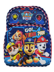 Backpack Paw Patrol Go Team Blue 3D Pop-up 177881-2