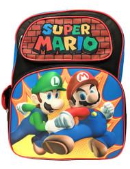 Backpack Nintendo Super Mario w/Luigi Attack 3D Pop-Up 199047-2