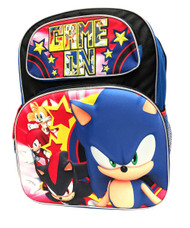 Backpack Sonic the Hedgehog Game On Team 3D Pop-Up 199160-2