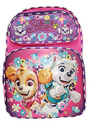 Backpack Paw Patrol Pink Skye+Everest Team 3D Pop-up 177904-2