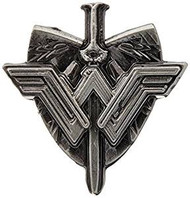 Pin Wonder Woman Shield & Sword Pewter Lapel 45748