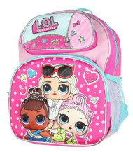"""Small Backpack LOL Surprise 3D Dolls 12"""" 128028-2"""