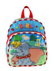 "Mini Backpack Disney Dumbo Circus Blue 10"" 008581"