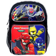 "Backpack Power Rangers Beast Morphers 16"" PR43684"