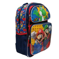 "Backpack Nintendo Super Mario & Luigi 16"" 202341"