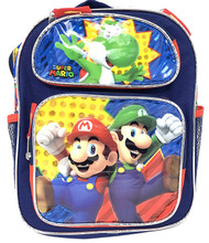 "Small Backpack Nintendo Super Mario & Luigi 12"" 202365"
