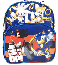 """Mini Backpack Sonic the Hedgehog Come On Step It UP 10"""" 202136"""