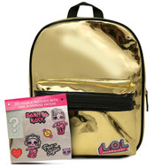 Mini Backpack L.O.L. Surprise w/Reusable Stickers 188447