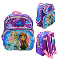 "Small Backpack Frozen Olaf, Anna & Elsa 12"" 005993-2"