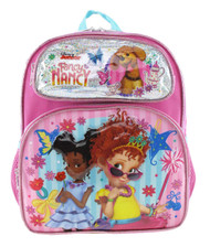 "Small Backpack Fancy Nancy Pretty Butterfly 12"" Pink 004657"