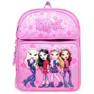 "Medium Backpack Bratz 4 Girls Pink 14"" 010038"
