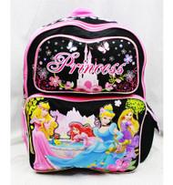 Backpack Disney Princess Rapunzel, Belle, Ariel & Aurora 611330
