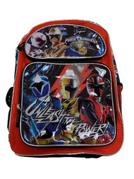 "Backpack Power Ranger Super Ninja Steel 16"" 197029"