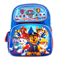 """Small Backpack Paw Patrol Little Puppies Blue 12"""" 001427"""